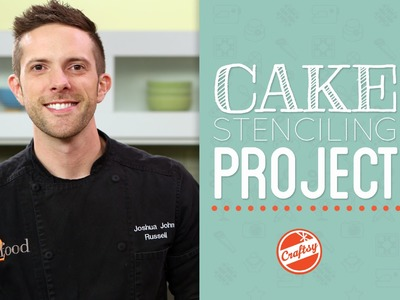 How to Stencil a Cake Project with Cake Designer Joshua John Russell