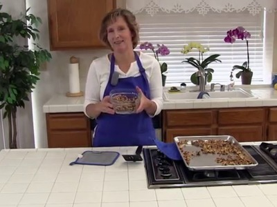 How to Toast Walnuts the Easy Way! : Toasting Walnuts in the Oven!