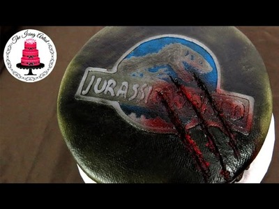 Jurassic World Buttercream Cake - How To With The Icing Artist