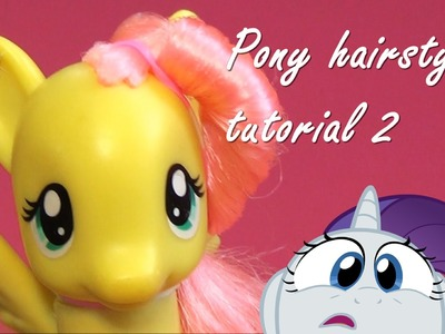 MLP hairstyle tutorial 2 - how to give Fluttershy an awesome makeover