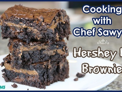 RECIPE: How to Make Hershey Bar Brownies with Kid Chef Sawyer