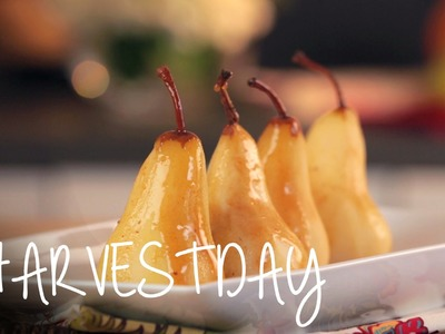 Recipe: How to Make Steamed Pears w. Apple Cider Sauce | #HarvestDay | Oprah Winfrey Network