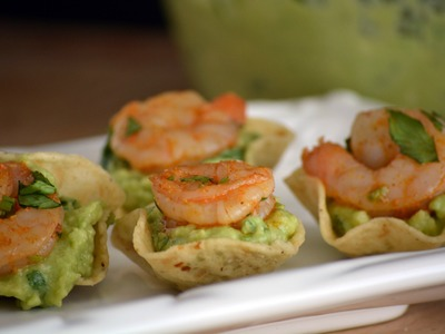 Shrimp & Guacamole Appetizer Recipe | How To Make Shrimp Appetizers | SyS