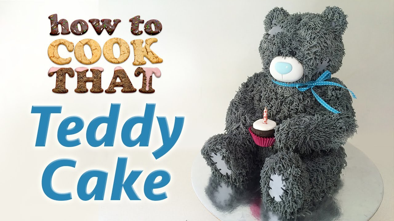 TEDDY BEAR CAKE by Ann Reardon How To Cook That Teddy Birthday Cake