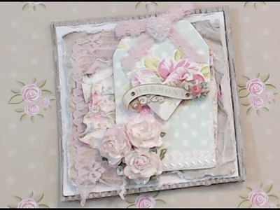 {Tutorial} How To Make Your Paper Shabby ~ Love it!!