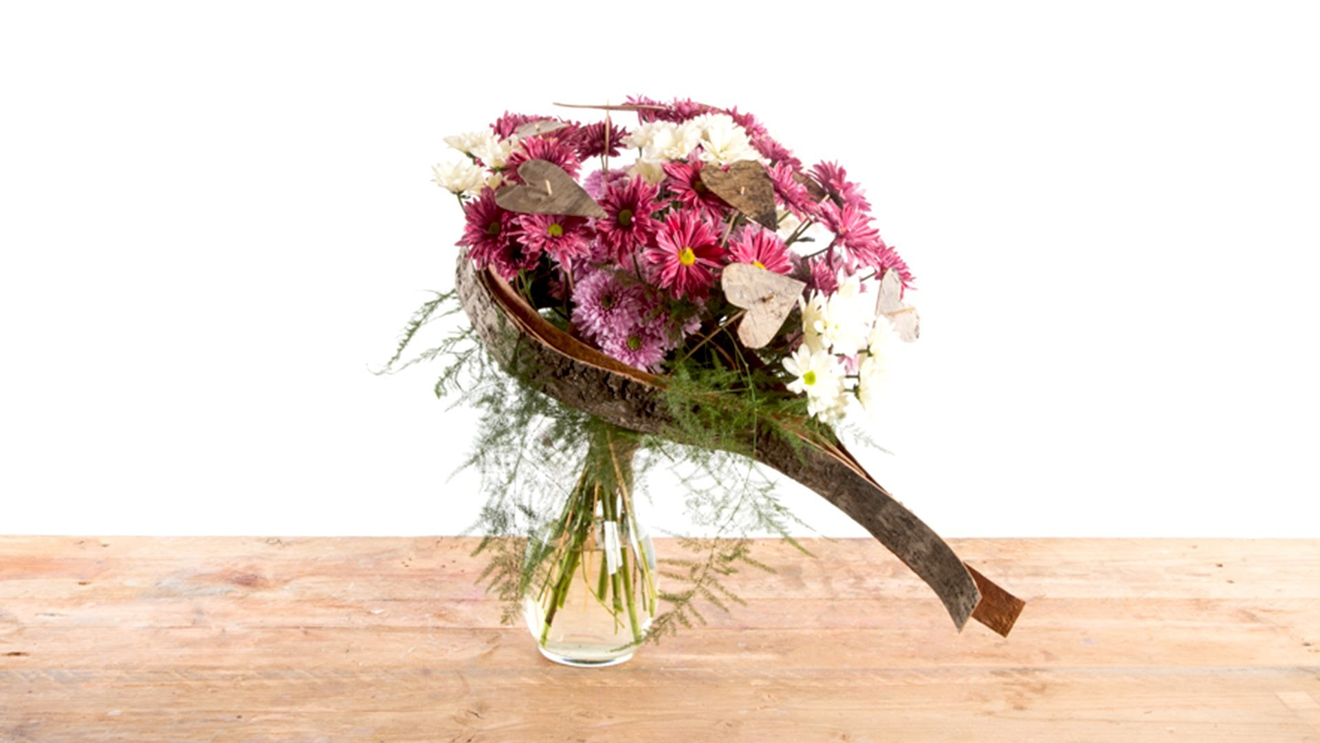 Valentine Heart   Flower Factor How To   Bouquet