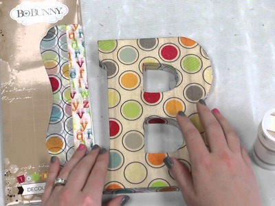 BoBunny - How to Use New Decoupage Paper