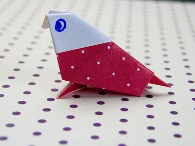 Como hacer pajaros de papel | how to make paper birds