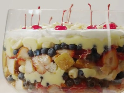 Dessert Recipes - How to Make English Trifle