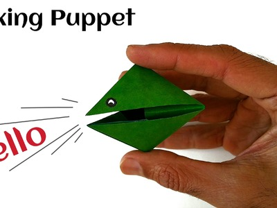 "Easy and Fun Origami - Paper ""Cute Talking Puppet. Snooper!"