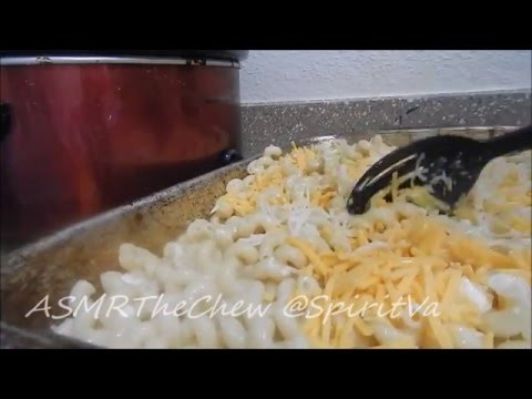 HOW TO COOK  MACARONI AND CHEESE ASMR (UNINTENTIONAL COOKING SOUNDS)