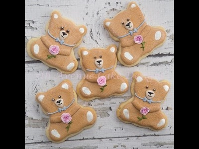 How To Decorate A Teddy Bear Cookie