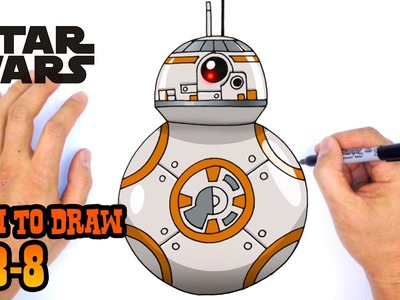 How to Draw BB-8 (Star Wars Episode 7)- Kids Art Lesson