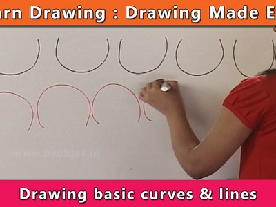 How to draw Curves | Learn Drawing For Kids | Learn Drawing Step By Step For Children