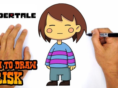 How to Draw Frisk (Undertale)- Kids Art Lesson