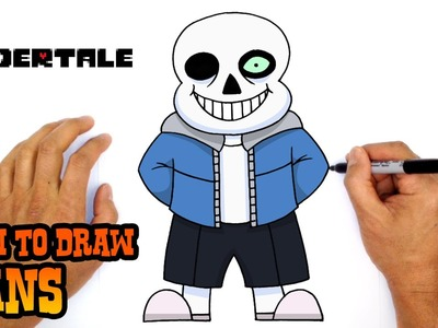 How to Draw Sans (Undertale)- Easy Step by Step Drawing