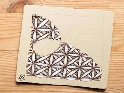 How to Draw the Zentangle® Tangle 'Fife'