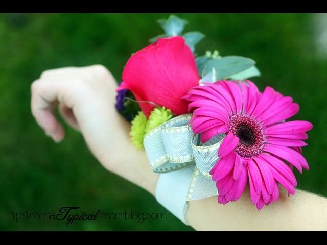 How to Make a Corsage for Weddings, Prom, Homecoming, or Mothers Day