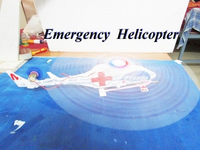 "How To Make a Helicopter - DC ""Electric Helicopter"" - How to Make a paper Helicopter"