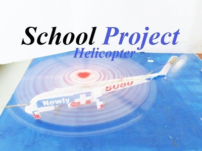 How To Make a Helicopter - DC Electric Helicopter