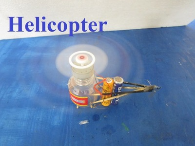 How To Make a Helicopter - how to make a helicopter with motor at home - Electric Helicopter