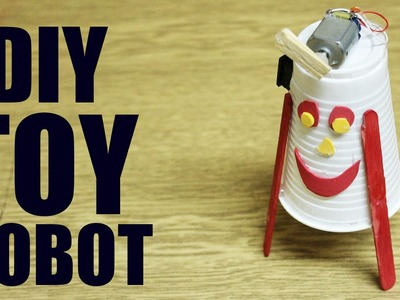 How to make a toy robot - Easy robot making