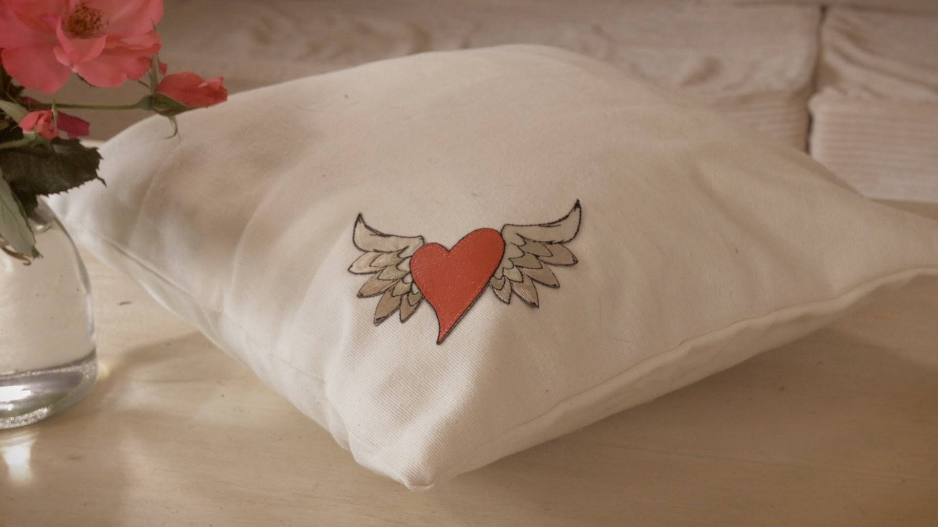 How to Make a Valentines Heart Pillow