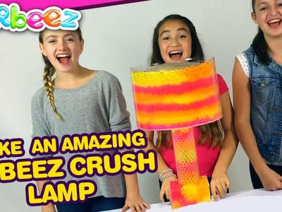 How to Make an AMAZING Orbeez Crush Light Up Lamp | Official Orbeez