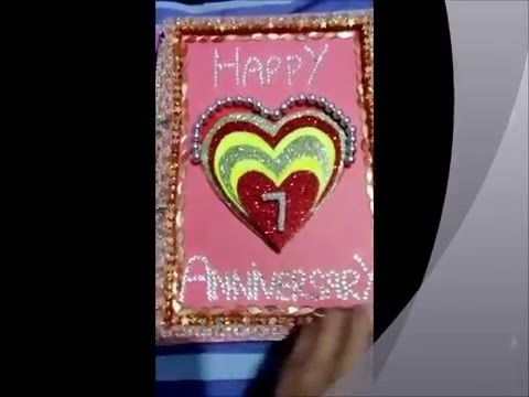 How to make anniversary card