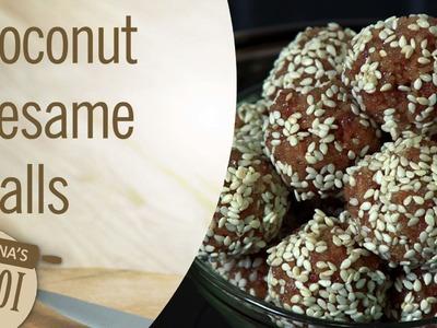 How To Make Coconut Sesame Balls | Makar Sankranti Special  | Archana's Rasoi