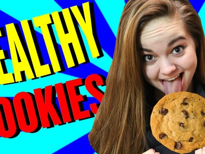 How to Make EASY & HEALTHY Chocolate Chip Cookies From Scratch - Chelsea Crockett