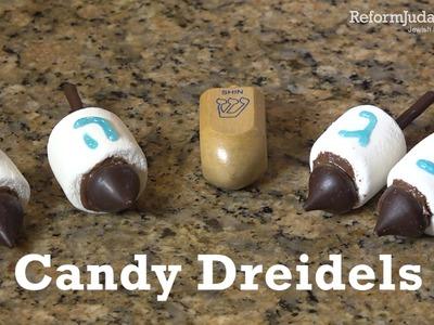 How to make edible dreidels