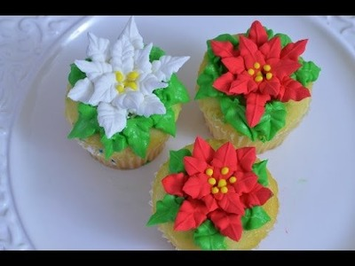 How to Make Poinsettias with Royal Icing