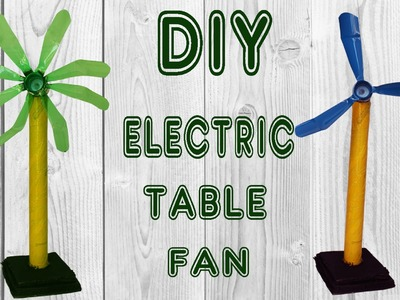 How To Make Table Fan From Plastic Soda Bottle DIY Simple Electric Fan