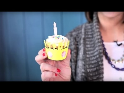 How to use the WRMK Happy Birthday Cupcake Liner Die