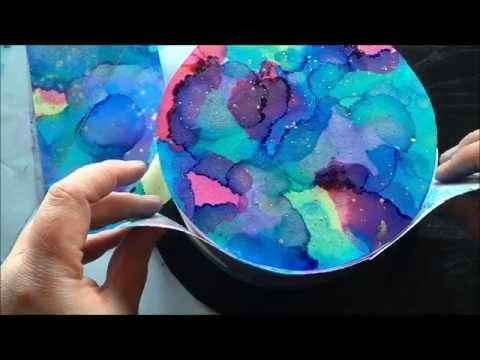 How to Watercolor on Sugar Sheets Tutorial by Cakes & Crafts by Kass
