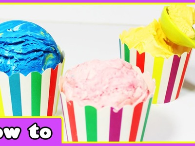 Learn how to make Ice Cream Play Doh | No Cook Play Doh | Play Doh Making by HooplaKidz How To