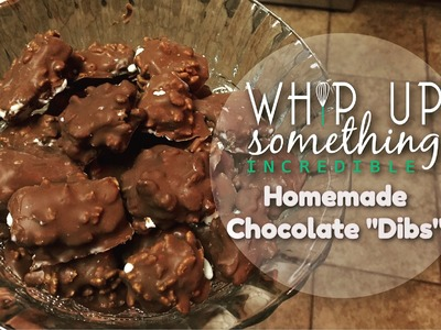 Make Your Own Chocolate Dibs (Bites)! How To Pictorial