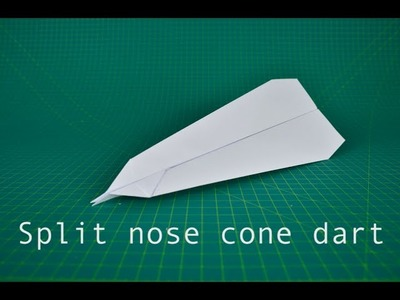 dart paper airplane instructions