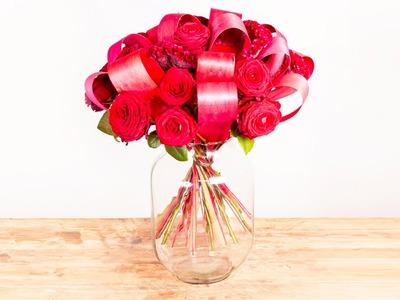 Passion Bouquet   Flower Factor How To   Bouquet