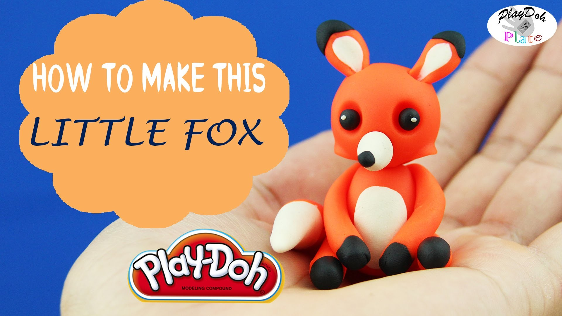 Play Doh Little Fox - Learn How to Make A Cute Little Fox With Play Doh Episode 24