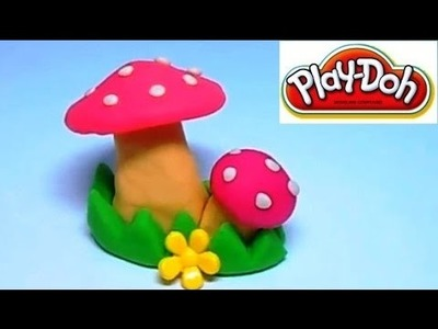Play Doh Mushrooms. How to Make Mushrooms