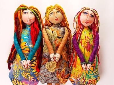 PREVIEW: How to Create a Cloth Doll - Part 2 - with Barb Owen - HTGC Member Class s02e07