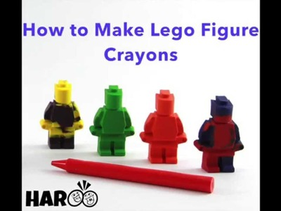 Silicone Mold: How to Create Lego Figure Crayons