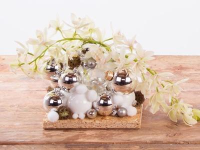 Cascade Cymbidiums For Christmas | Flower Factor How To | Flower Arrangement