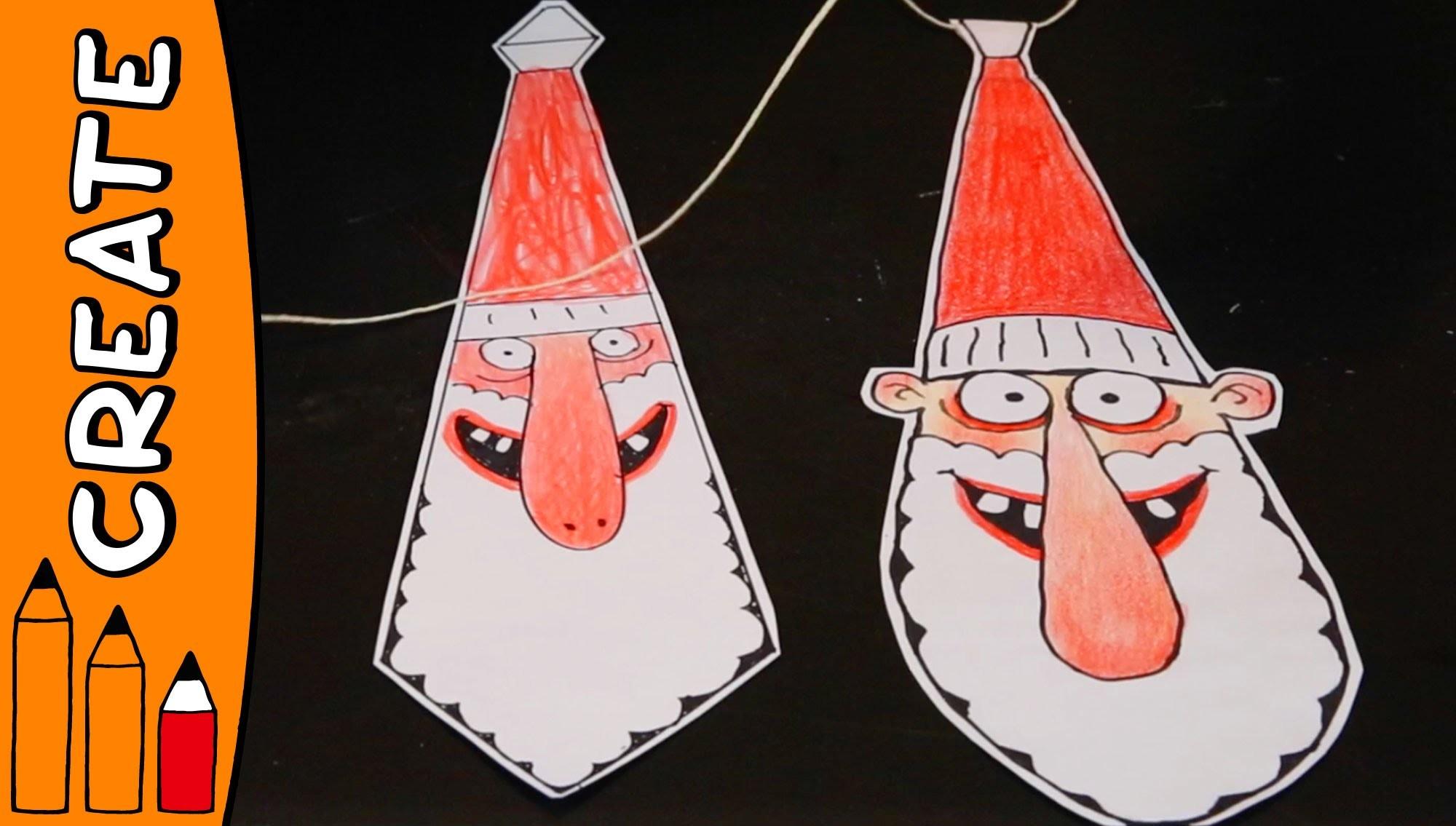 Christmas Tie | DIY Craft Ideas With Øistein