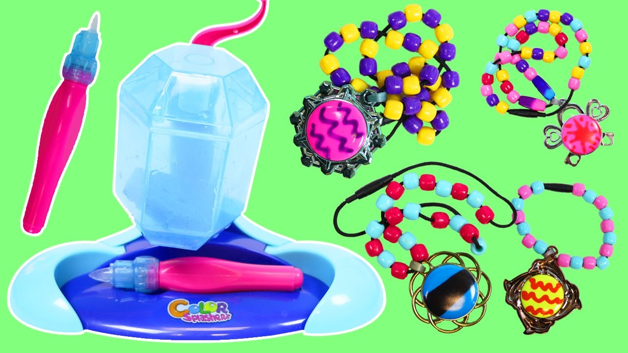 Color Splasherz Ice Design Station Fun & Easy DIY Color Changers Necklaces and Bracelets