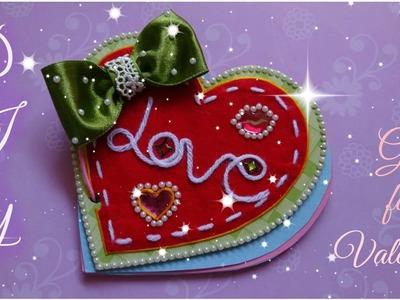 Diy craft - Valentine Notepad
