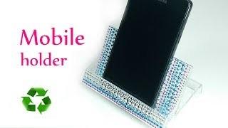DIY crafts: PHONE HOLDER from cassette case Innova Crafts