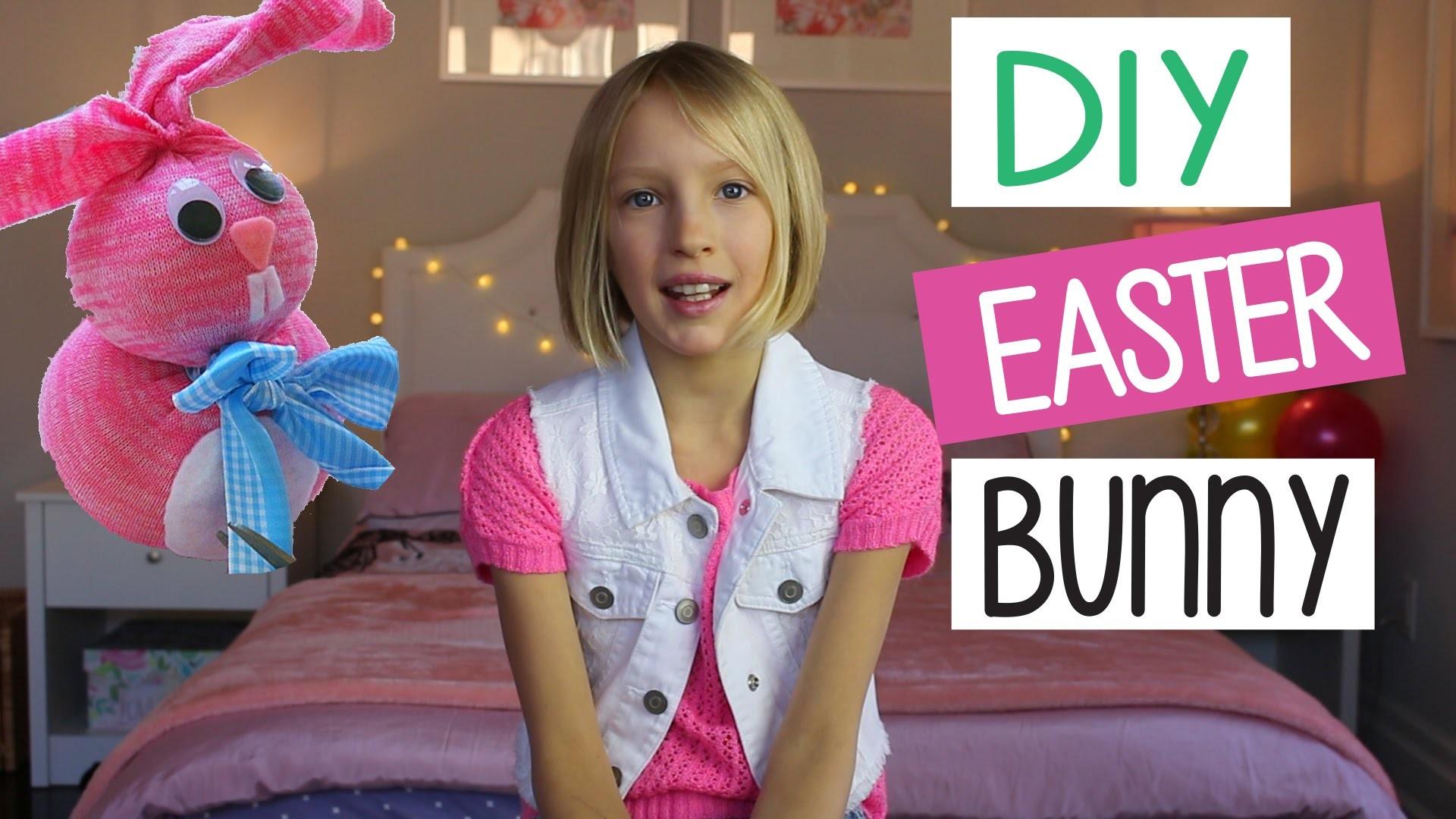 DIY Easter Bunny   Easy Kids Crafts